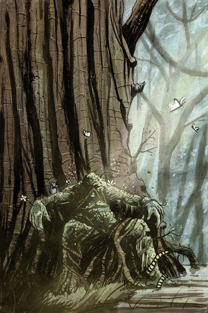 Swamp Thing - Tyler Champion
