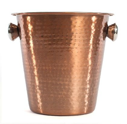 6000 Cuisivin Bel-Air Barware – Champagne Bucket  Serve in style with the new Cuisivin Bel-Air Barware Collection. The beautiful hand crafted collection of barware is made of stainless steel with an accented hand-hammered exterior and mirror copper finish.