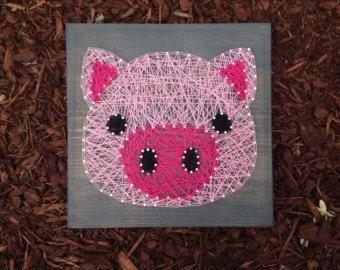 farm animal string art – Etsy