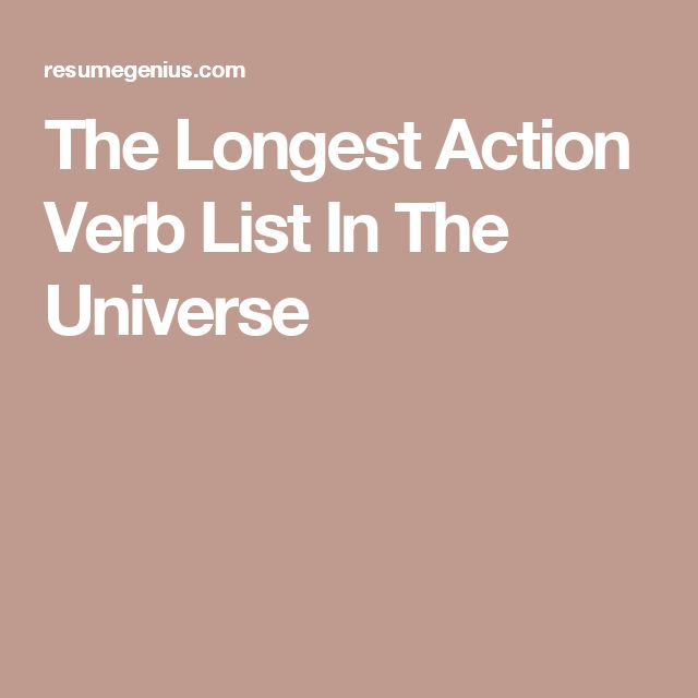 Best 25+ Verbs list ideas on Pinterest English verbs list - verb list