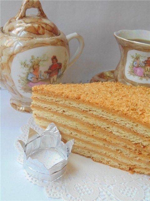 Фото к рецепту: Торт Рыжик.