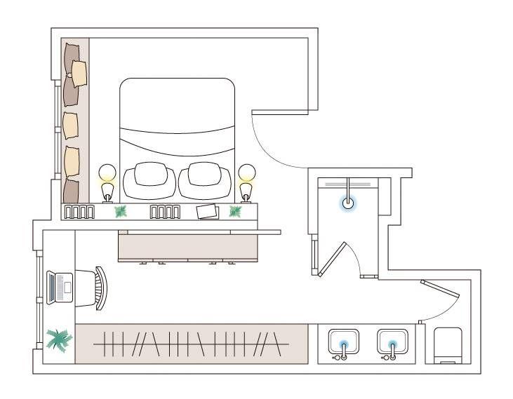 Aprovechar Un Cuarto Estrecho Junto Al Dormitorio Planos De