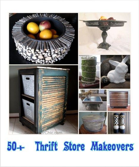 50+ Thrift Store Makeovers