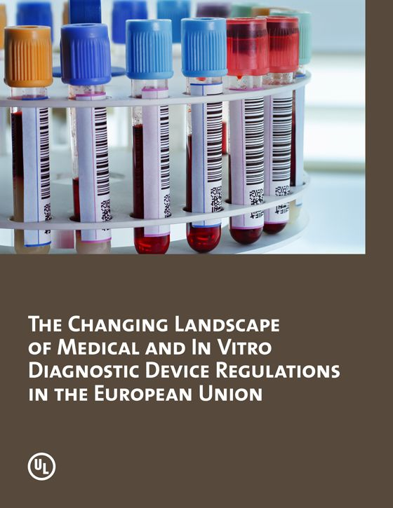 This UL white paper offers an overview of the recent and proposed changes to regulations applicable to medical and in vitro diagnostic devices sold in the EU. The paper begins with a brief summary of the EU's original regulatory structure and the motivations behind the proposed changes. The white paper then provides a summary of the proposed changes, as well as their possible impact on device manufacturers.