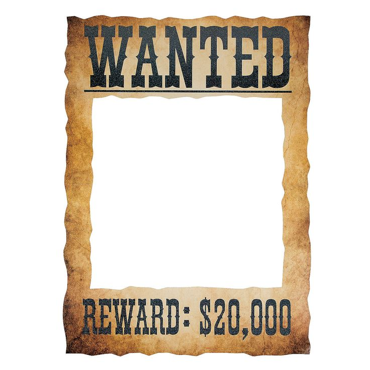 Wanted Photo Frame Prop Events Photo Frame Prop Photo