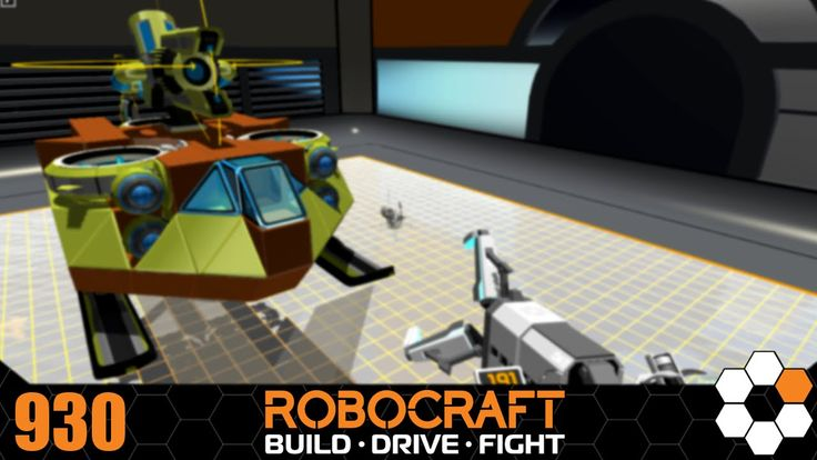 Robocraft - 'Med Evac' Build