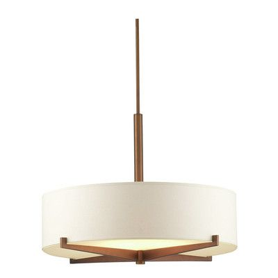 Philips Consumer Luminaire Fisher Island 3 Light Drum Pendant $317.99  Wayfair