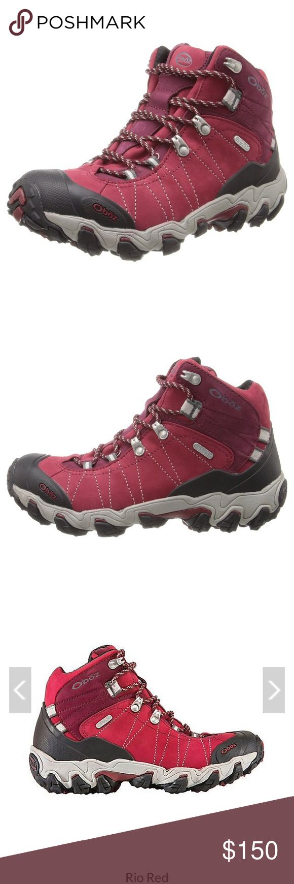 Oboz women's Bridger b-dry hiking boot Brand new! Worn twice, can't return they were too small. Size 8. oboz Shoes Lace Up Boots