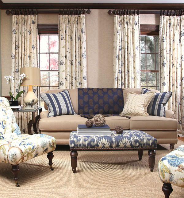 Blue Horizon Fabrics Fabric By The Yard Calico Corners Curtain Pinterest Colors Family