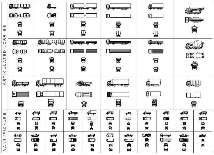 This Cad Drawing Comprises Of Heavy Trucks Dump Truck