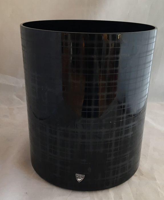 Online veilinghuis Catawiki: Ingegerd Raman (Orrefors) -  Slowfox  Grote zwarte vaas
