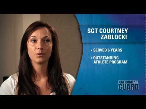 Women in the National Guard: SGT Courtney Zablocki