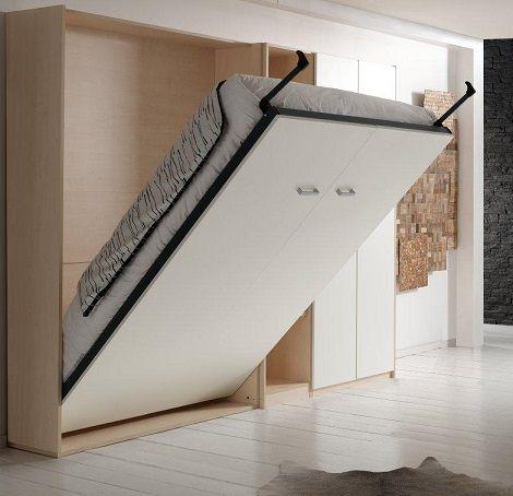 63 best opklapbed bedkast bureaubed ruimtebesparend bed images