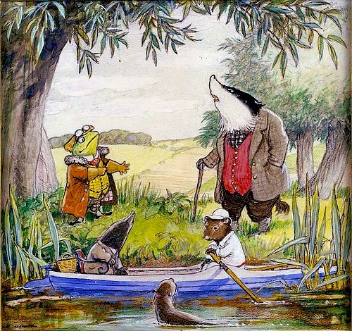 'The Wind in the Willows'
