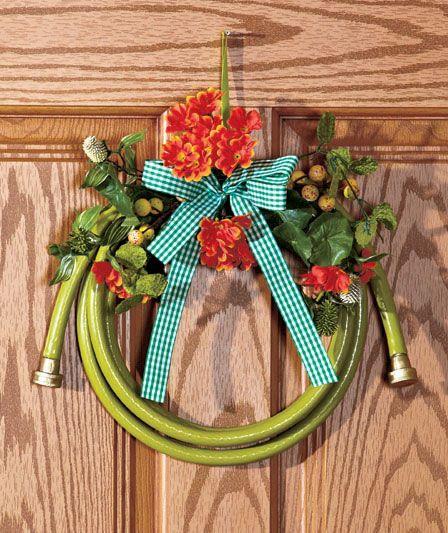 Floral Garden Hose Wreaths | The Lakeside Collection