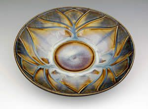 Lotus Bowl, Small by Bill Campbell