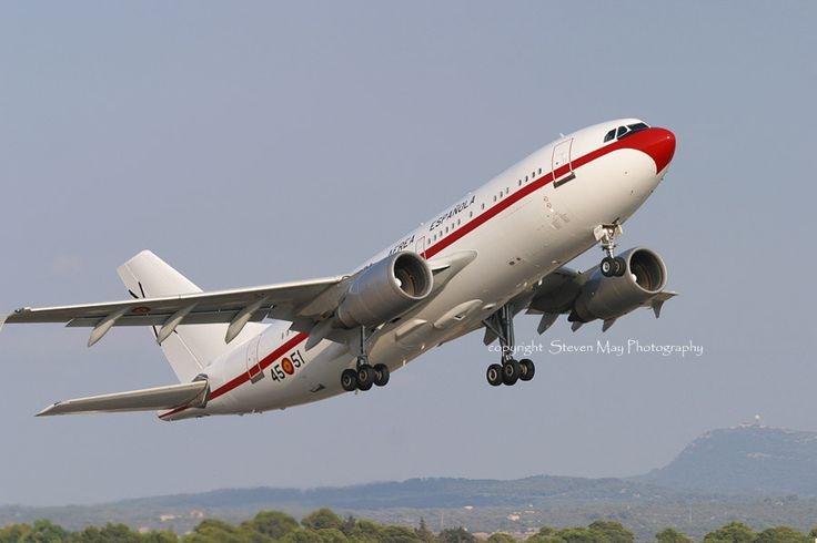Taken at Mallorca, Spain in August 2005 - this aircraft is shown departing after having brough the Spanish royal family to the island. Originally delivered new to Air France in 1991.