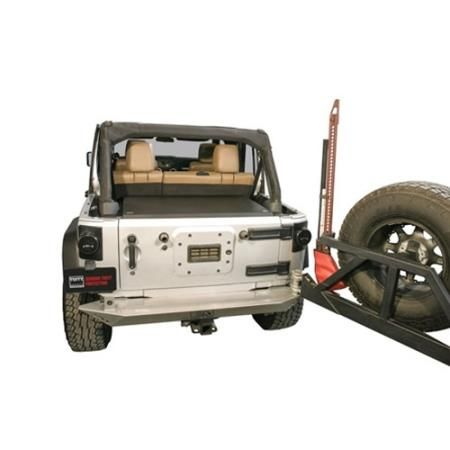 Tuffy - Deluxe Security Deck Enclosure - Fits 2011 to 2016 JK Wrangler, Rubicon and Unlimited - 4WD.com