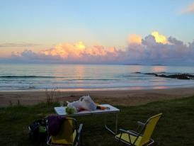 7. CAMPING on one of these gorgeous beaches.