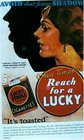 En 1929, es va organitzar un truc publicitari ja llegendària convencent les dones a fumar en la desfilada de Pasqua a Manhattan com una declaració de rebel·lia contra les normes d'una societat dominada pels hòmens. Els manifestants no eren conscients que una companyia de tabac estava darrere de la maniobra publicitària. Bernays va doblegar el la seua campanya de relacions públiques: Torxes de la Llibertat contingent