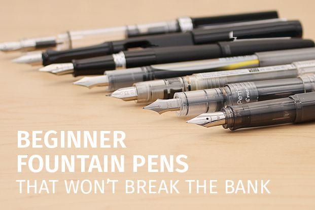 Great Beginner Fountain Pens That Won't Break the Bank - JetPens.com