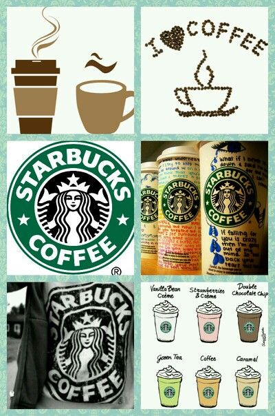 Starbucks collage troyesha parks made