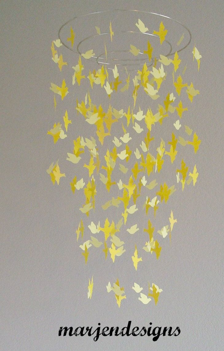 17 best images about catherine on pinterest star mobile for Bird mobiles for nursery
