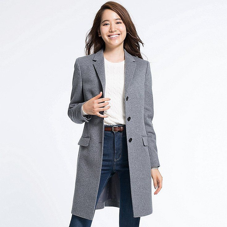 This coat is made with a blend of luxurious cashmere and wool for a beautiful texture and soft, cozy warmth. We lowered the first button for an attractive and relaxed silhouette. We improved the collar interfacing for a soft, comfortable roll and added authentic details like matte horn buttons.