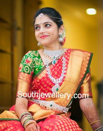 south indian brides in wedding jewellery