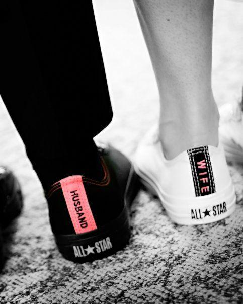 cute hubby & wife shoes #JustFabonline #Wedding