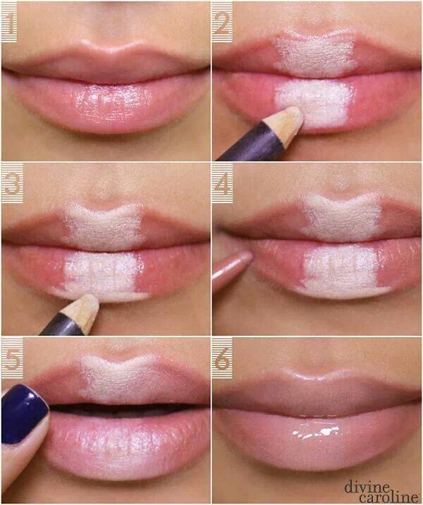 How to create fuller looking lips