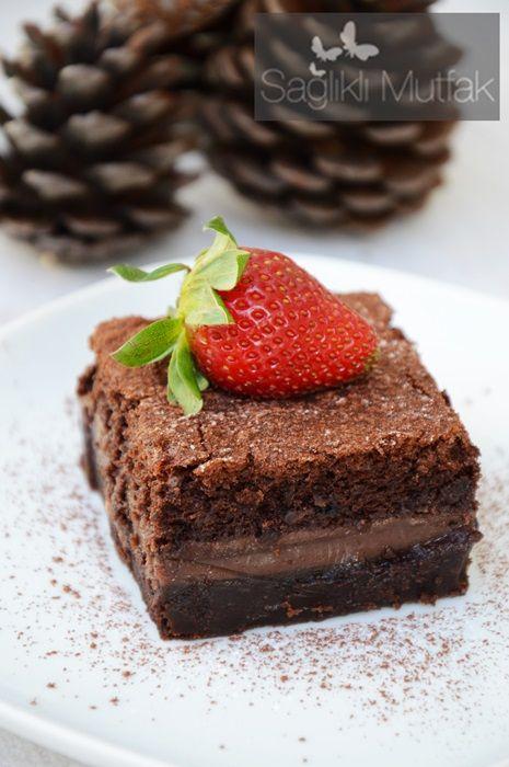 Çikolatalı Sihirli Kek – Sağlıklı Mutfak