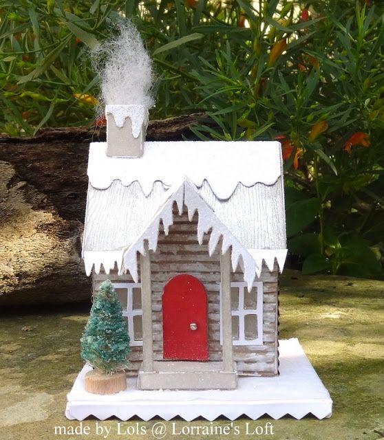 Lorraine's Loft: Simon Says: Let There Be Snow
