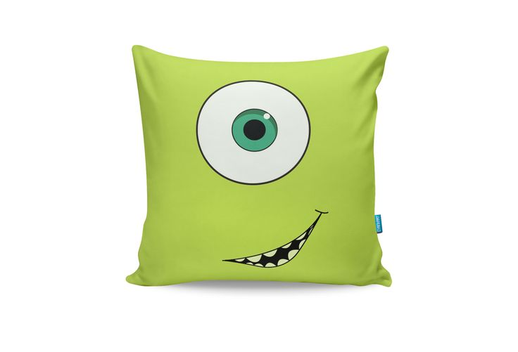 Monsters Inc. Throw Pillow from Cyankart