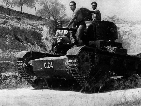 Russian T-26 tank