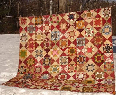More Finished Stars in a Time Warp | Civil War Quilts | Bloglovin'