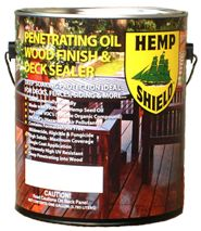 Hemp Shield™ — The First Hemp Oil Based Deck Finish For All Wood Products