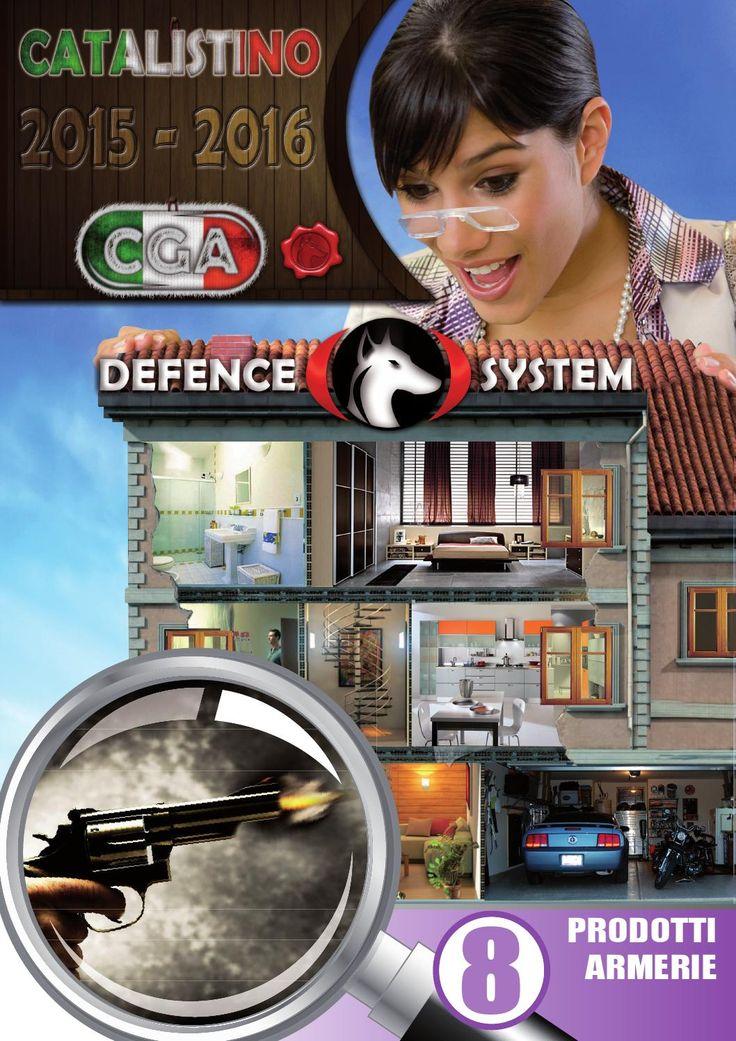 Defence System Armerie  Catalistino prodotti riservati alle armerie.