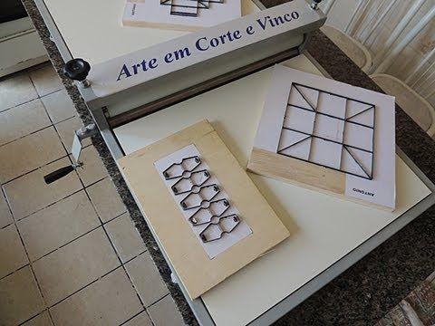 Máquina de Cortar Forminhas e Caixinhas - Corte e Vinco - YouTube
