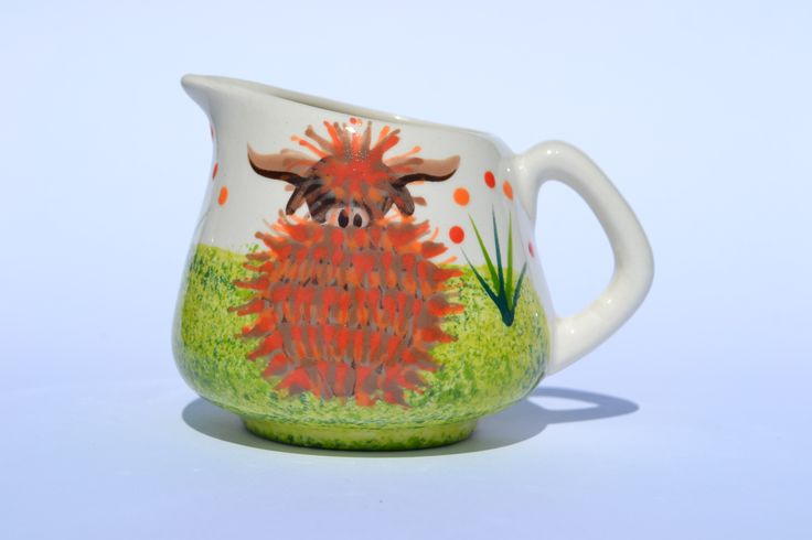 Mini Jug - hand painted in Scotland