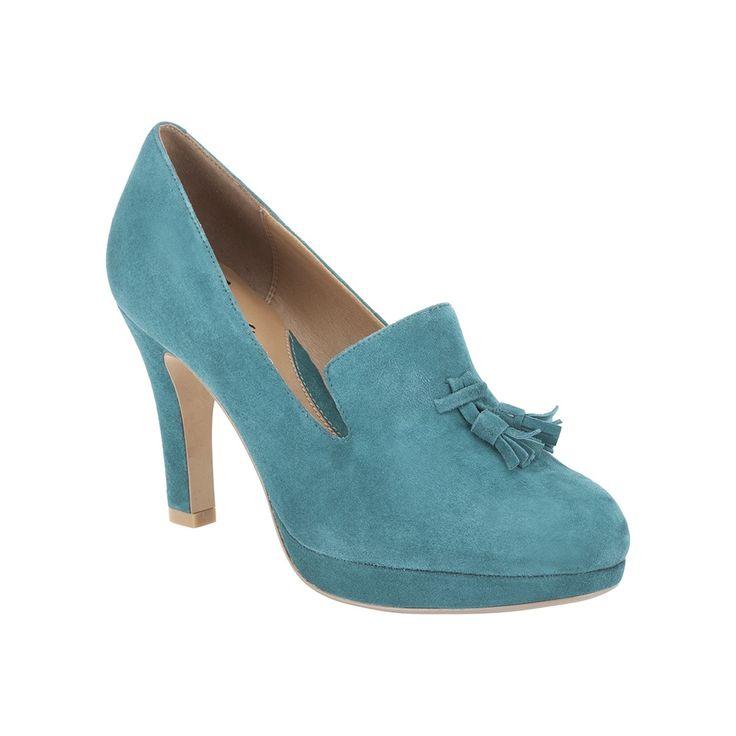 TEAL TREND - Alma Kendra Shoes, £54.99, Clarks http://www.clarks.co.uk/