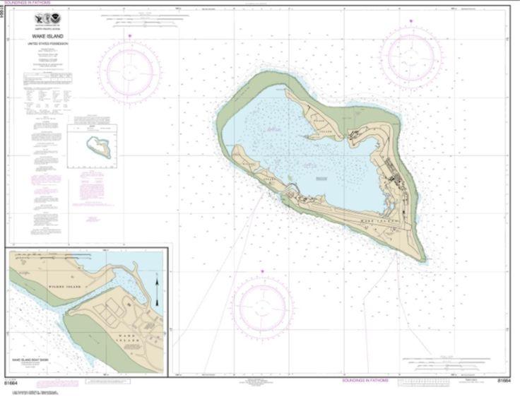 Wake Island; Wake Island Boat Basin (81664-7) by NOAA