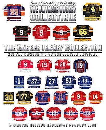 All The Number 1's of The Career Jersey Collection - 33 Ltd Ed - Autographed - Autographed NHL Jerseys *** You can get more details by clicking on the image.