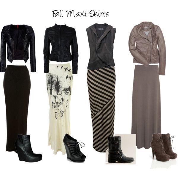 126 best Grey Maxi Skirt images on Pinterest