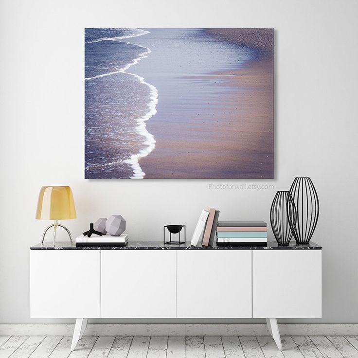 Website With Photo Gallery Beach waves photography nautical Bathroom Decor beach Photography Bathroom Art blue large wall