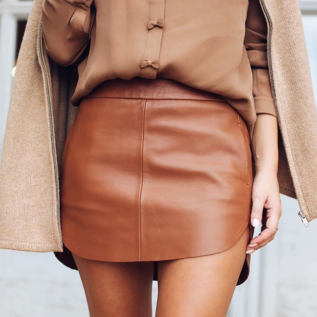 Leather Skirt, love!