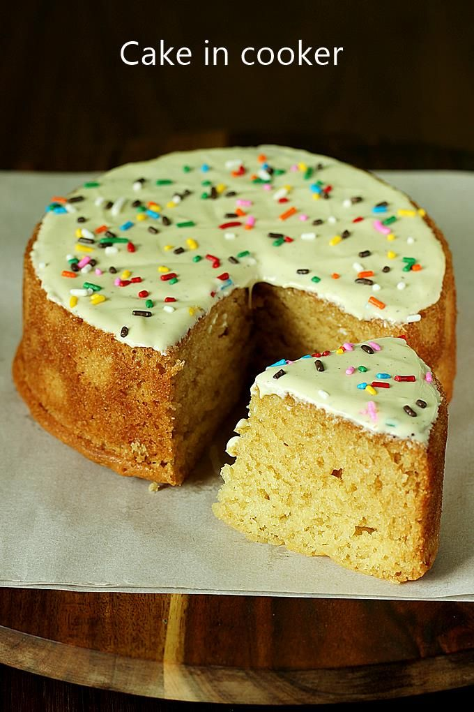 Cooker Cake Recipe How To Make Cake In Cooker Recipe Cake