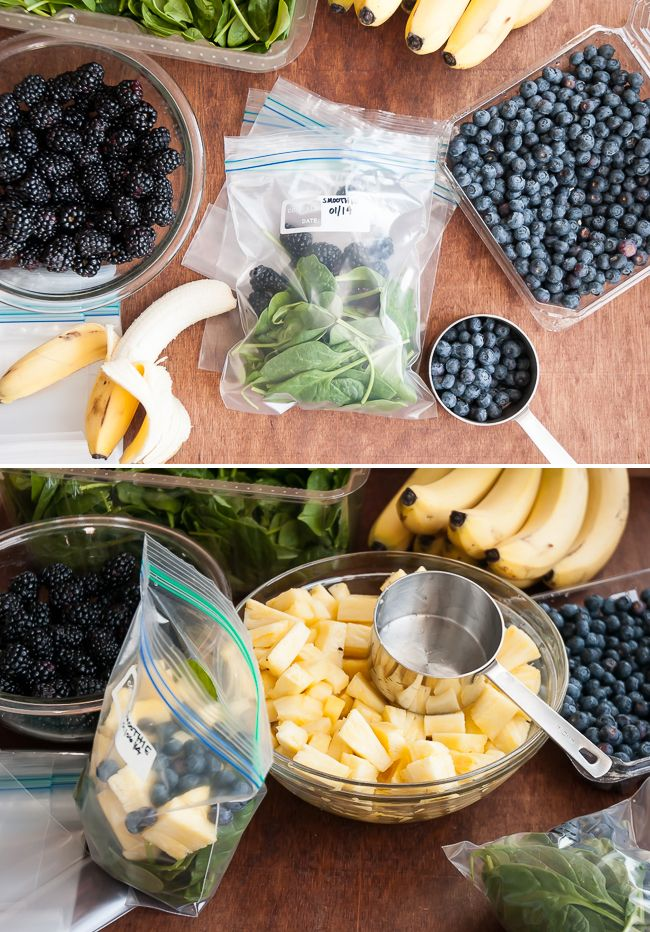 DIY Green Smoothies for a month