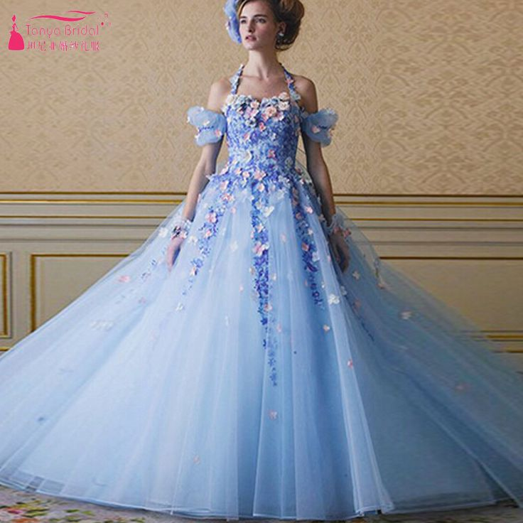 Find More Wedding Dresses Information about Romatic Amazing Beautiful Wedding Dresses 3D Flower Off Shoulder Halter Bridal Dresses Girl's Quinceanera Dresses   Z425,High Quality dress ice,China dress for work women Suppliers, Cheap dress lobster from Tanya Bridal Store on Aliexpress.com