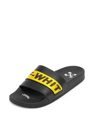 off white industrial slides off white shoes off white in 2018